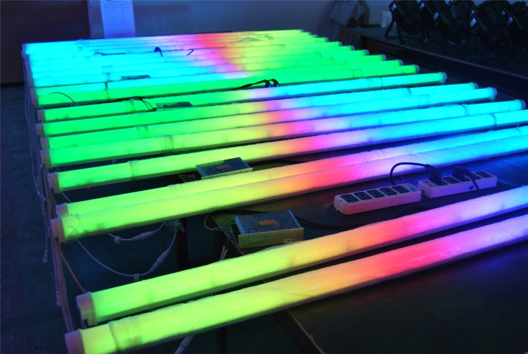 Dimbare Kleur Veranderende Led Tube Rgb T5/T8 Led Buis T8 Multicolor Led Buis Verlichting