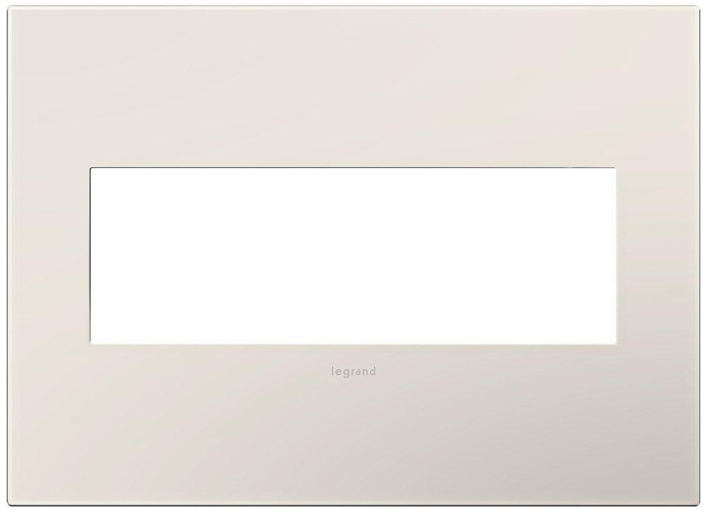 Legrand (AWP3GLA4) adorne Satin Light Almond 3-Gang Wall Plate
