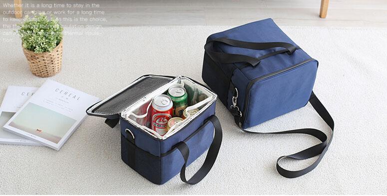 Eco Isolé Par Pique-Nique Extérieur Étanche Sac de Refroidisseur de Papier D'aluminium pour Refroidir la Bière isolé de livraison de nourriture organique sac à sandwich