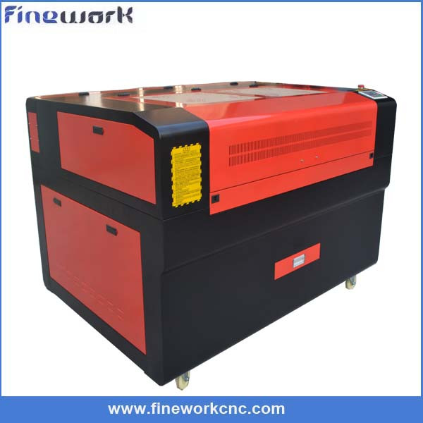 factory price Finework computer embroidery and label cutting machine laser