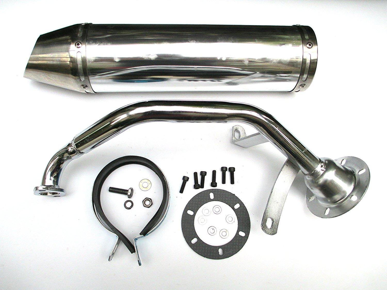 Buy GY-6 QMB 50cc Performance Exhaust GY6 QMB139 4 Stroke