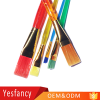 modern art oil paints watercolor acrylic nylon hair child oil painting brush