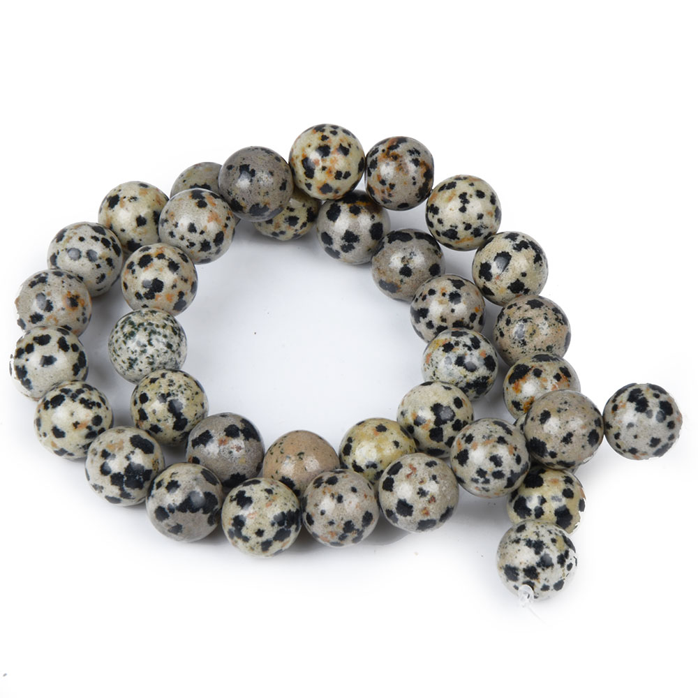 Wholesale Round Balmatine Jasper Beads for Bracelet Jewelry Making