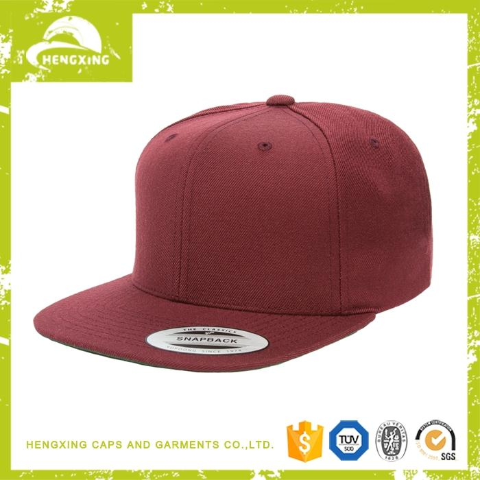 Professional brown leather 6 panel snapback hats 2012