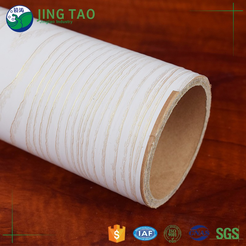 Hot sale pvc wood grain plastic laminate foil