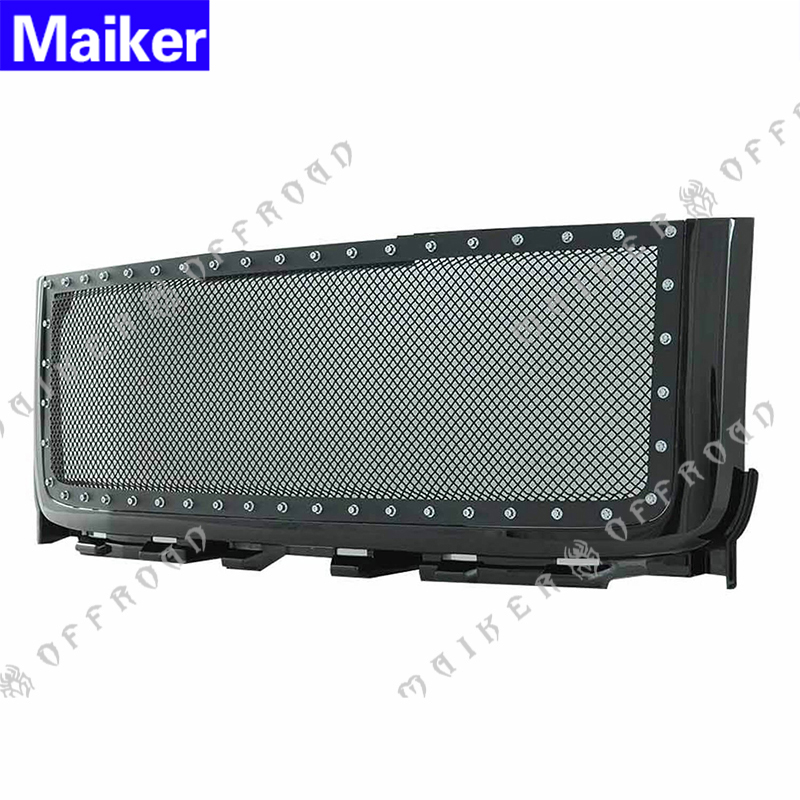 black Grille for 2011 - 2014 GMC Sierra 2500 3500 grill accessories