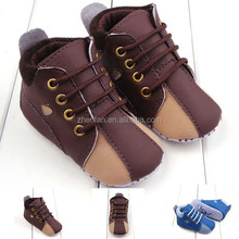 baby boy shoes soft sole pu kids shoes anti-slip baby toddler shoes