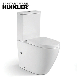 European standard Toilet of Washdown cheap toilet rimless wc water closet for sale