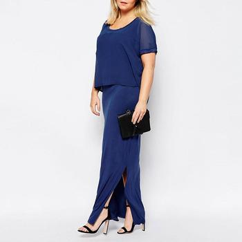 New model ladies western dress designs long custom maxi plus size ...