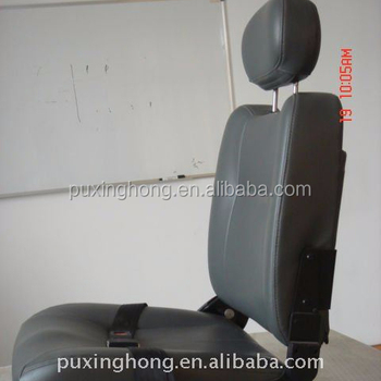 Interior Leather Car Seats PU Foam Filled Seat for Bus