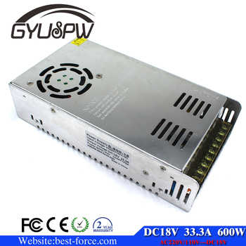 New Design 600w 33.3a 18v Led Switching Switch Power Supply ...