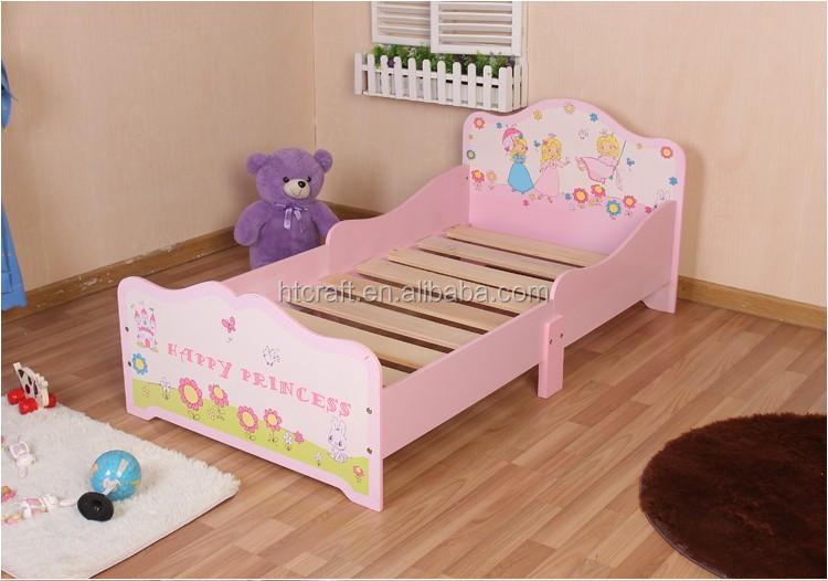 Ni os cama princesa dise o madera ni os cama con madera - Disenos de camas para ninos ...