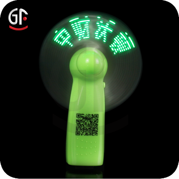 Summer Cool World Cup Advertise Yellow Led Fan New Gift Giveaways Ideas