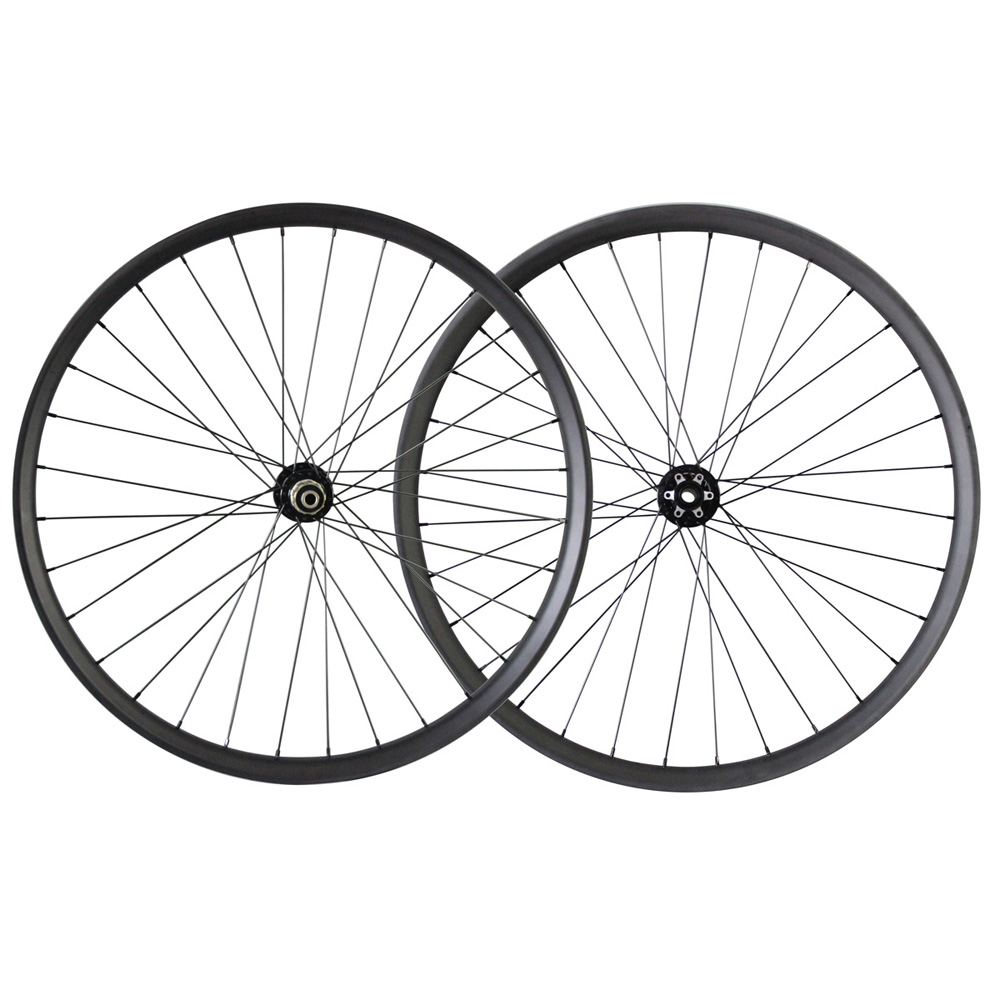 Factory direct Mountain bike carbon clincher wheelset 29 inch mtb carbon wheelsets