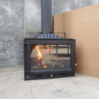 15KW China Cast Iron Wood Burning Stove for Sale / cast iron room heater HS-X9L