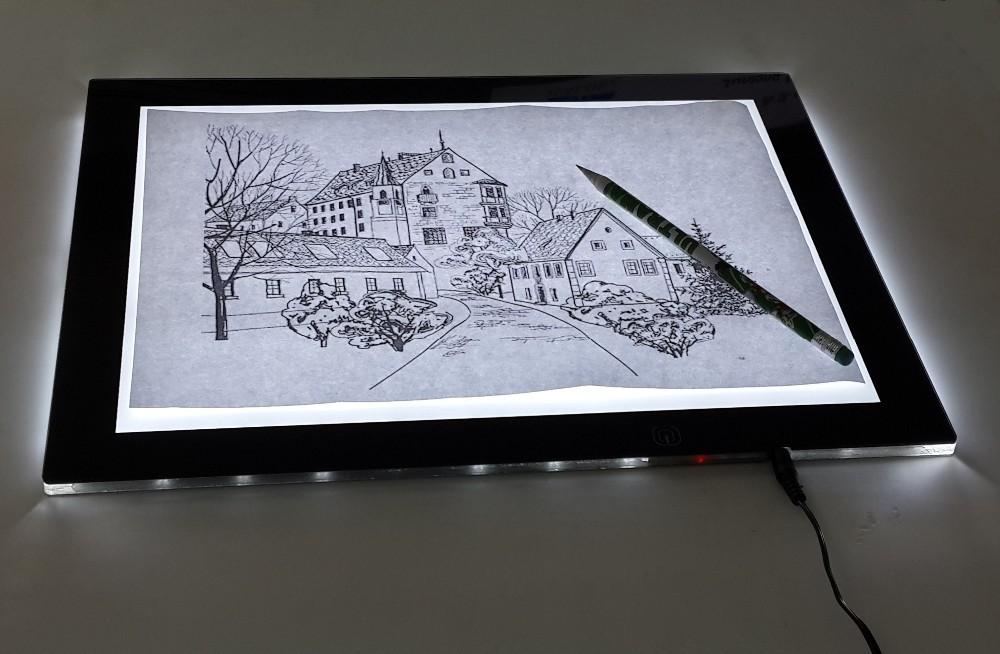 Animation Drawing Tattoo Stencil Tracing A4 Art Led Light Pad Light