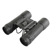 HD Wide angle Binoculars Telescope 12X30 Portable Red Membrane Optics Binocular for Hunting Mini Telescope Luneta Binoculars