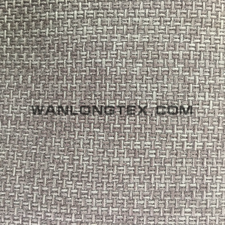 100 Polyester High Martindale test woven plain dyed upholstery fabric linen factory wholesale