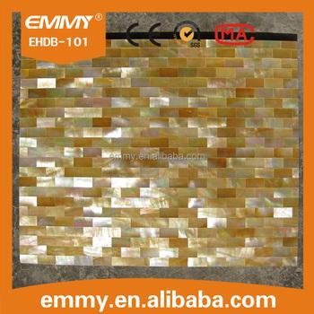 Gold Rohen Perlmutt Shell Haltbarkeit Mosaik Fliesen Fur Dekoration