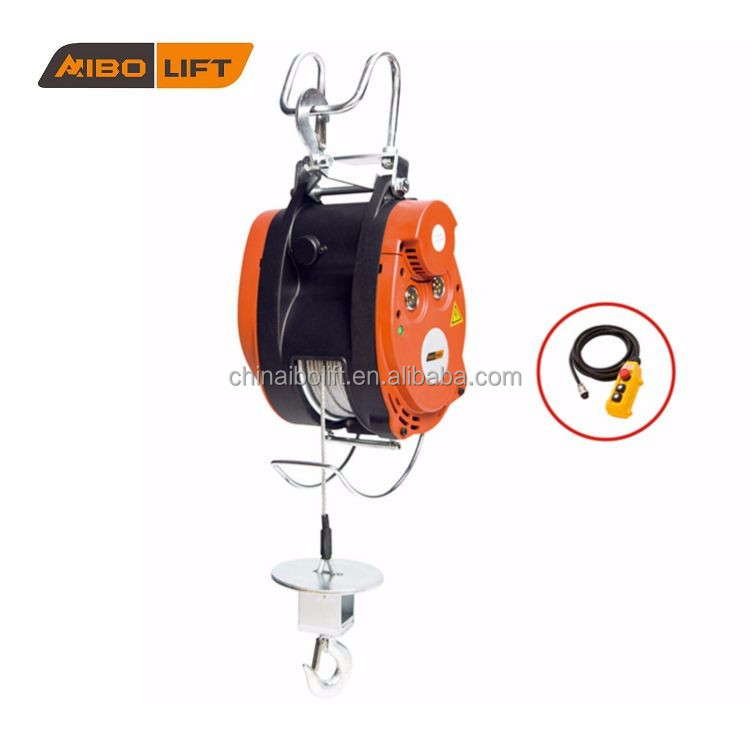 Electric Power Source and Cable Sling Type Electric hoist