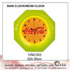 Wall decoration Neon clock/LED clock 12NC303
