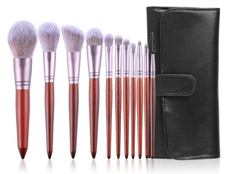 Professional Facial Blush Powder High Light Flat Custom Logo Makeup Brush