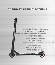 30KM/H New easy folding 350W electric Scooter double suspension kick scooter