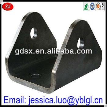 Dongguan Factory Price Hot Sale Custom Precision Metal Hardware U Shaped  Bracket,Square Tube Brackets Link Bar Mounting Bracket - Buy Hardware U