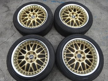 Used 17x8x9 Off+35 Fr Jza80 180sx 240sx R33 Z32 Silvia Work Racing ...