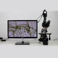 Multipurpose biological microscope /Popular digital trinocular microscope with high resolution camera