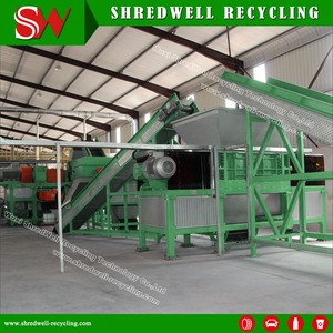 Best Price Rubber Mulch Line for Scrap Car/Truck/OTR Tire Recycling