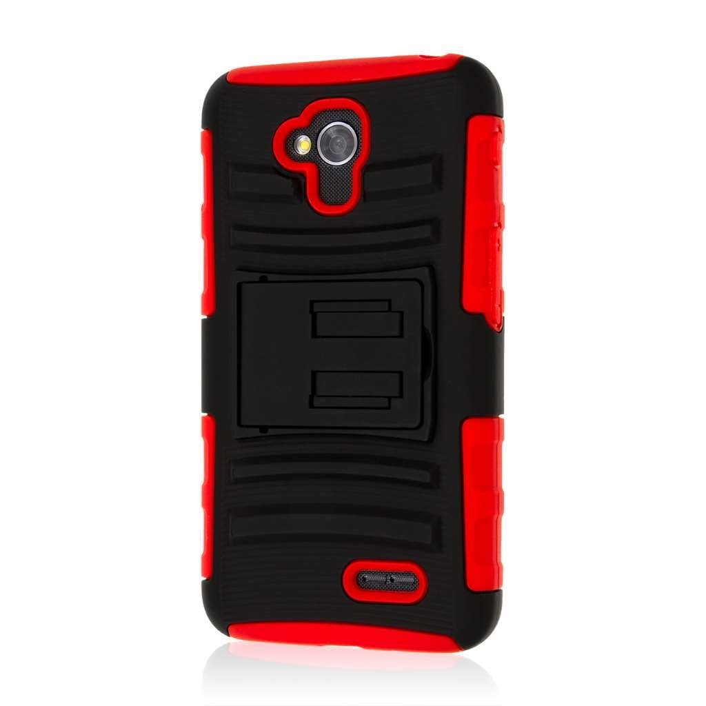 Get Quotations · LG Optimus L70 Kickstand Belt Clip Holster Case, MPERO  IMPACT XT Series Kickstand Case and