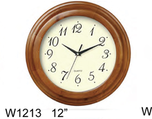 WOOD ART WALL CLOCK