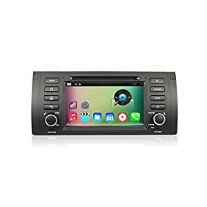 Quad Core 1024600 Android 5.1 Car DVD GPS Navigation Multimedia Player Car Stereo for BMW 5 E39 Series:1996 to 2001-E39  Radio 3G Wifi Bluetooth Steering Wheel Control