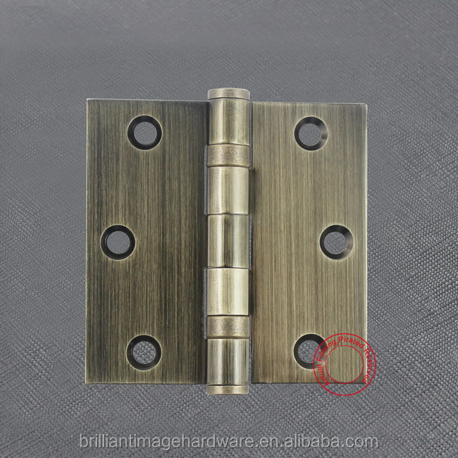 "3 inch x3""x 2.0-2BB door hinge steel hinge with two ball bearing"