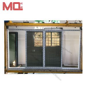 Conch PVC profile sliding door price exterior pvc glass door