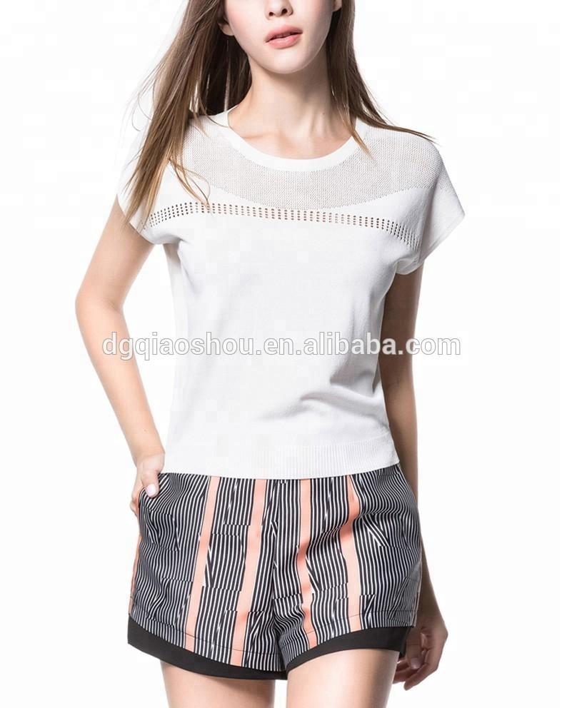 c2cbd963ab640d Catálogo de fabricantes de Damas Blancas Blusas De Manga Corta de alta  calidad y Damas Blancas Blusas De Manga Corta en Alibaba.com
