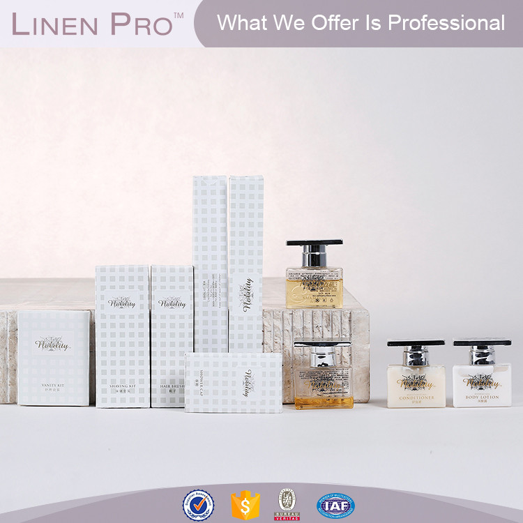 LinenPro Wholesale Hotel Soap and Shampoo Hotel Amenity Manufacturer