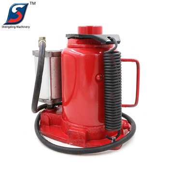 32 ton red steel air hydraulic bottle jack for car repair tool