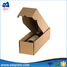 Corrugated paper carton wine glass packing box