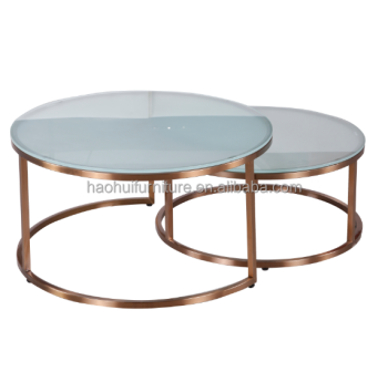 Round Coffee Table Metal 7