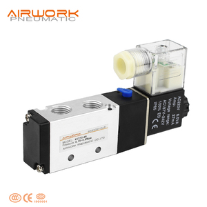 airtac type 4v210-06 4v210-08 5 2 way solenoid valve wiring diagram pneumatic air valve 12v