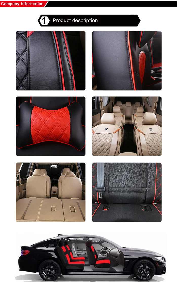XRACING NM SC622 Auto Seat Cover Protector Unique Universal Car Covers