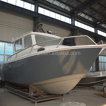 8m Lifesyle Aluminum Fishing Boat With Cucdy Cabin Buy Large Aluminum Boats Used Aluminum Boats Product On Alibaba Com