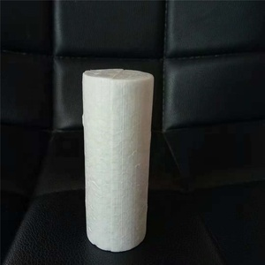 White Modelling Craft Polystyrene Foam Cylinder Pillar 12cm Party DIY Decoration Kids Craft Ornaments