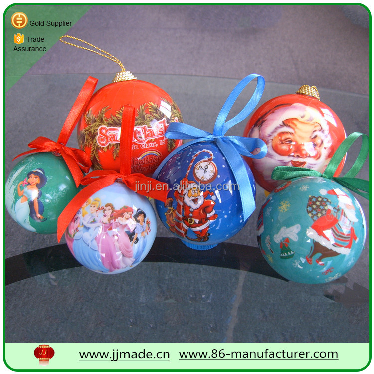 wholesale price beautiful christmas foam balls for tree decoration