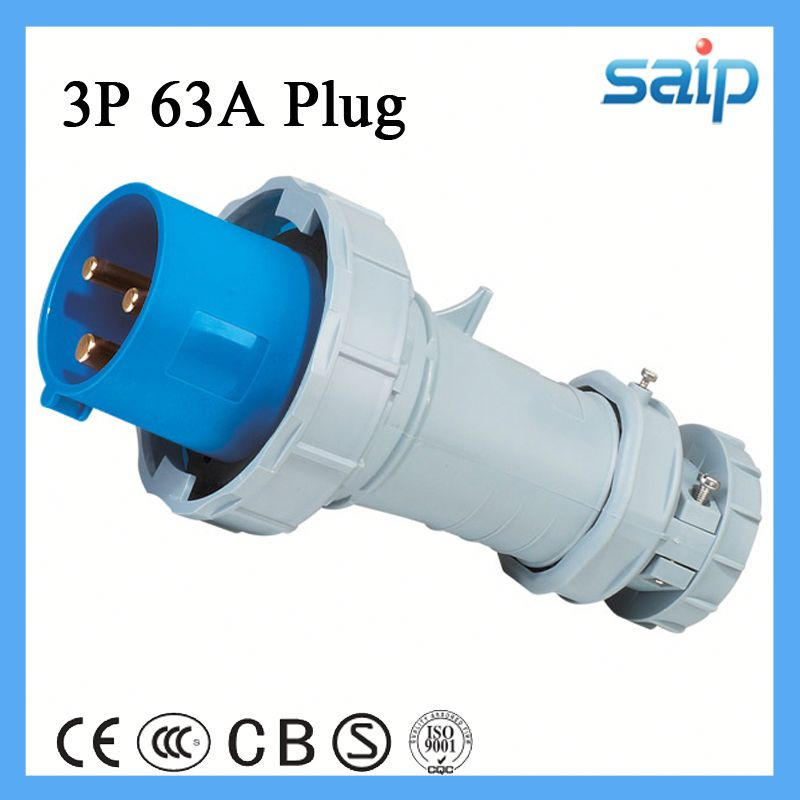 16a industrial plug water resistant electrical plug