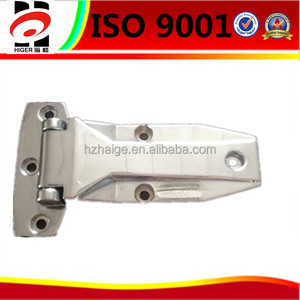custom make chrome plated zinc alloy casting Shower room hinges