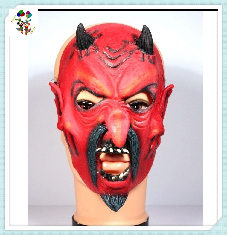 Halloween Scary Devil Monster Adult Costume Horror Latex Masks HPC-1503