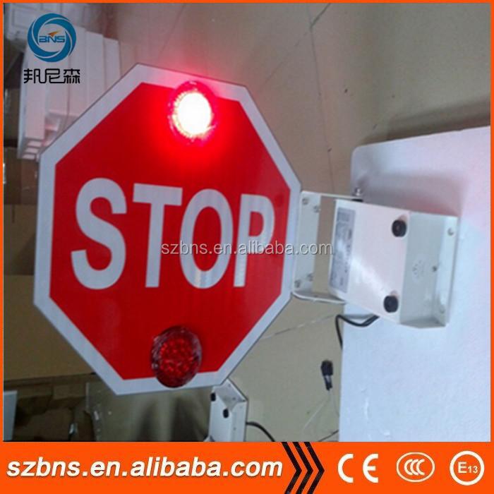 HTB1nNKVNpXXXXb3XVXXq6xXFXXXE 12v 24v manual electronic school bus stop arm stop sign on school 1971 Volkswagen Wiring Diagram at eliteediting.co